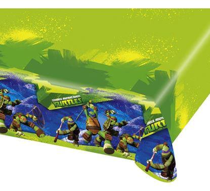 Afbeeldingen van Tafelkleed Ninja Turtles 120x180 cm