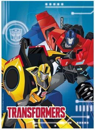 Afbeeldingen van Uitdeelzakjes Transformers 8 stuks