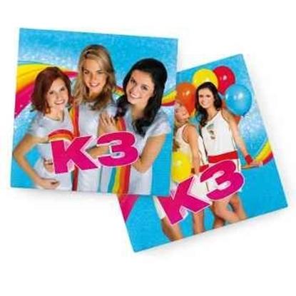 Afbeeldingen van K3 Servetten 20 stuks