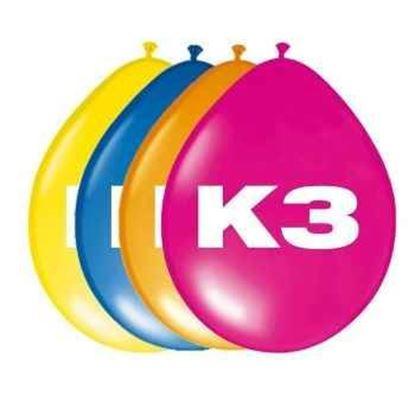 Afbeeldingen van K3 ballonnen  8 stuks