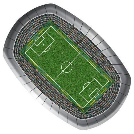Afbeelding van Bordjes voetbal 8 stuks