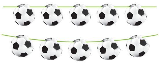 Afbeelding van Vlaggenlijn voetbal 10 meter