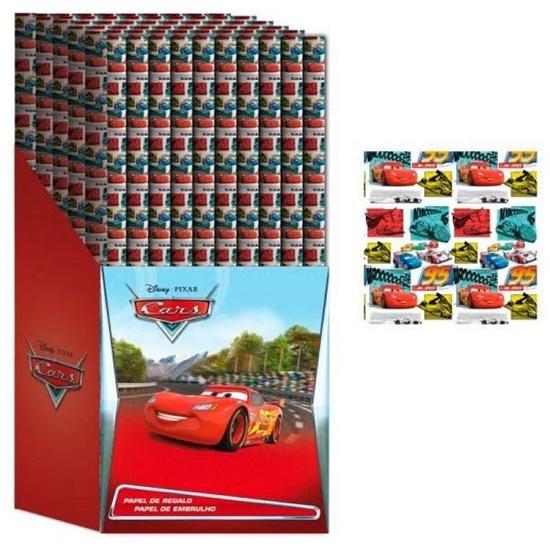 Afbeelding van Disney Cars inpakpapier
