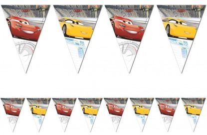 Afbeeldingen van Cars vlaggenlijn 2,3 meter