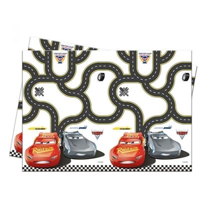 Afbeeldingen van Cars tafekleed 120x180 cm