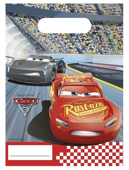 Afbeelding van Cars uitdeelzakjes 6 stuks