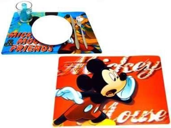 Afbeelding van Placemat Mickey Mouse rood