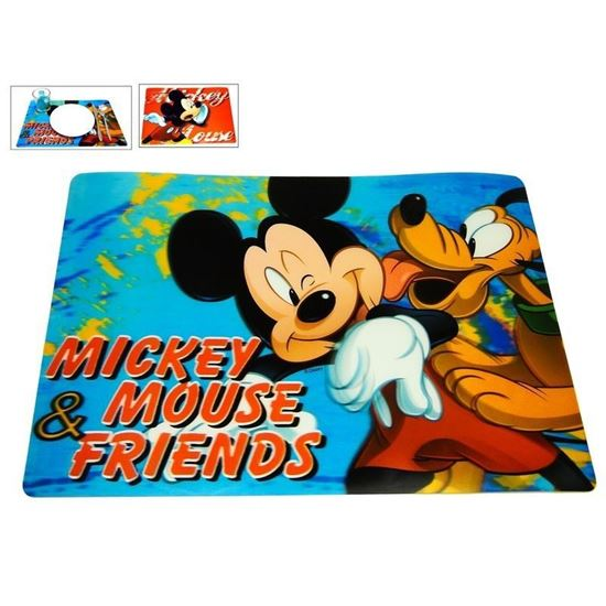 Afbeelding van Placemat Mickey Mouse blauw