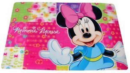 Afbeelding van Placemat Minnie mouse roze
