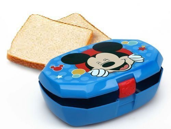 Afbeelding van Lunchbox Mickey Mouse blauw
