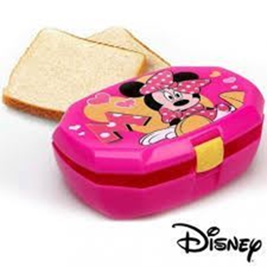 Afbeelding van Lunchbox Mnnie Mouse roze