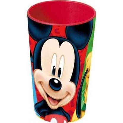 Afbeeldingen van 3 delig plastic eetset Mickey