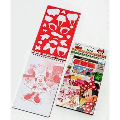 Afbeeldingen van Art pad Minnie Mouse
