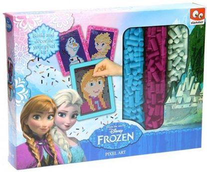 Afbeeldingen van Disney Frozen Pixel Art