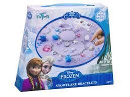 Afbeeldingen van Disney Frozen Snowflake armbandjes