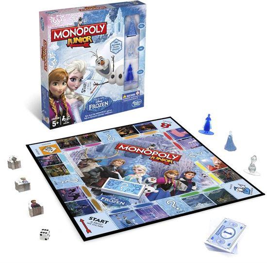 Afbeelding van Disney Frozen Monopoly Junior