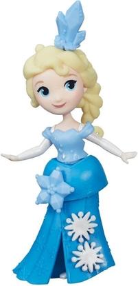 Afbeeldingen van Disney Frozen Mini Prinses Elsa met sneeuwpop - 10 cm - Speelfiguur