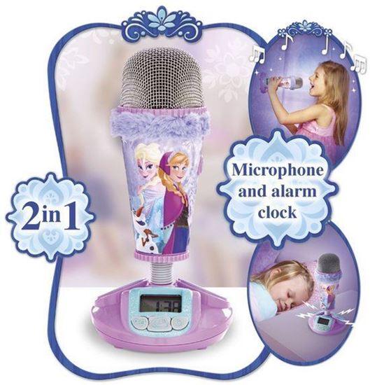Afbeelding van Disney Frozen Microphone - Wekker - Paars