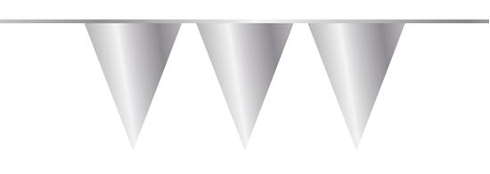 Afbeelding van Vlaggenlijn zilver 10 meter