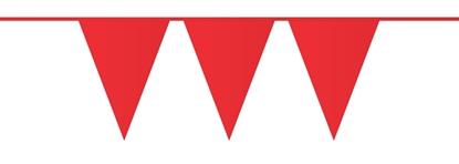 Afbeeldingen van Vlaggenlijn Rood 10 meter