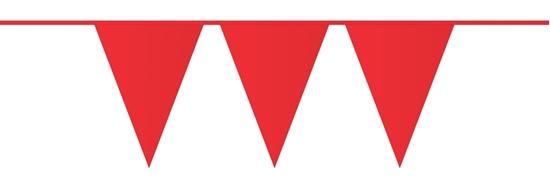 Afbeelding van Vlaggenlijn Rood 10 meter