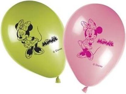 Afbeeldingen van Ballonnen Minnie Mouse 8 stuks