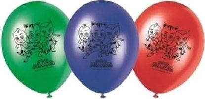 Afbeeldingen van PJ Masks ballonnen 8 stuks