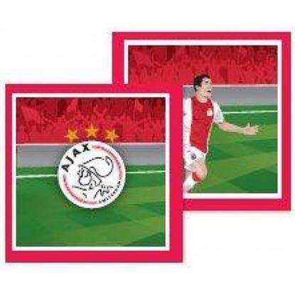 Afbeeldingen van Ajax servetten 20 stuks