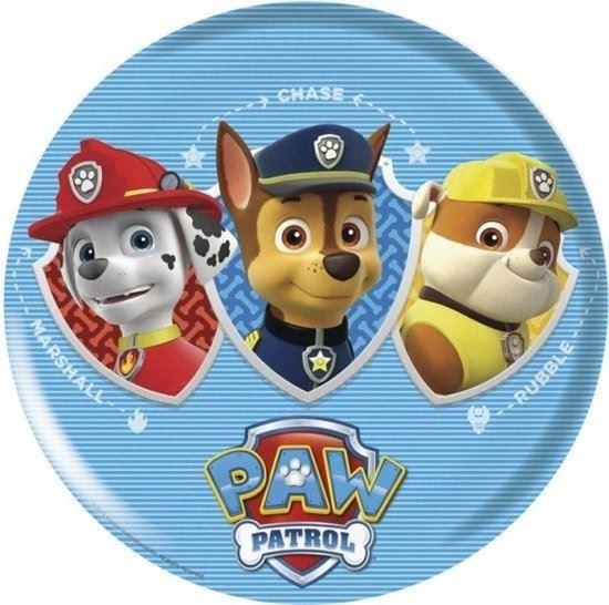 Afbeelding van Paw Patrol bord melamine